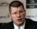 21/11/11 HAMPDEN - GLASGOW SPL Chief Executive Neil Doncaster speaks with the press after announcing a new TV deal with Sky and ESPN for coverage of the Clydesdale Bank Premier League.