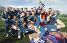 East Kilbride lift the Ferrari Packaging Lowland League trophy
