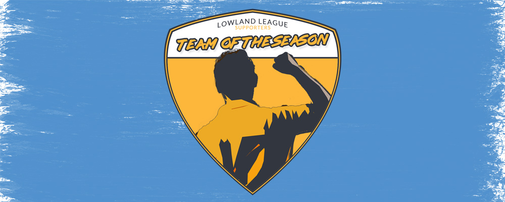 Lowland League Supporters' Team of the Year Decided