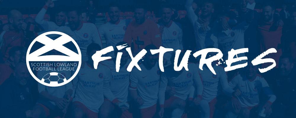 2018/19 Lowland League Fixtures Announced