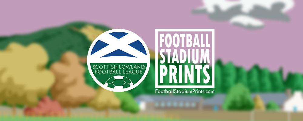 Lowland League Announces Partnership with Football Stadium Prints