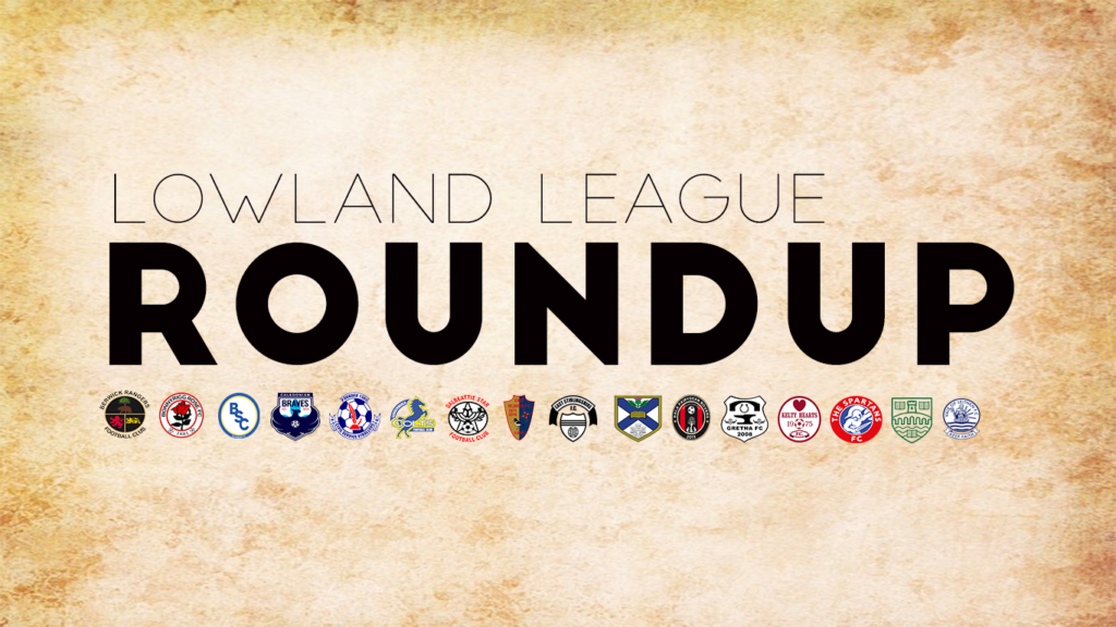 Lowland League Roundup – Matchday 8