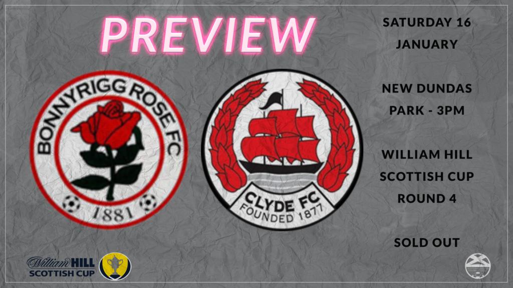 Bonnyrigg Rose vs Clyde – Scotish Cup Preview
