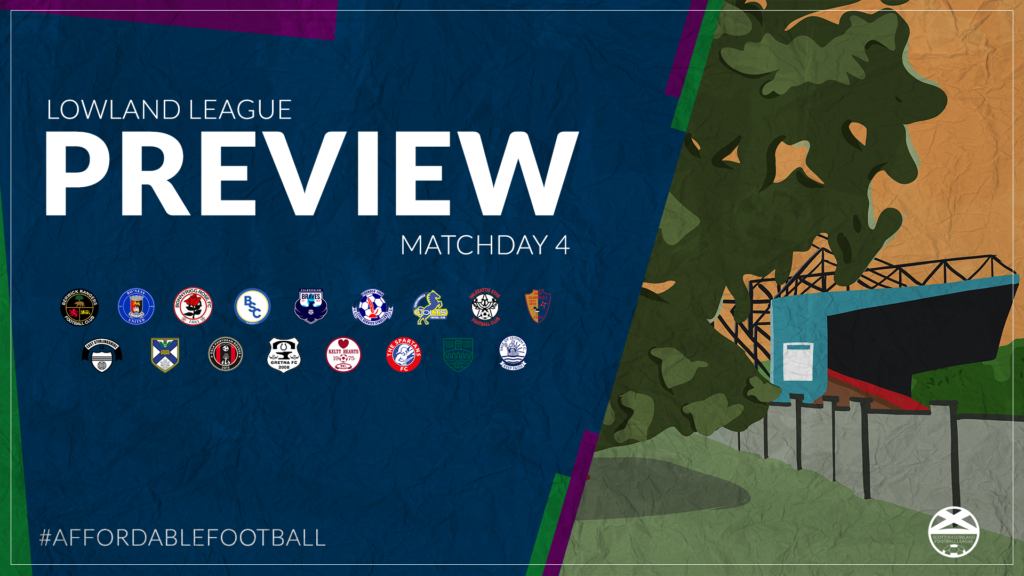 Lowland League Preview – Matchday 4