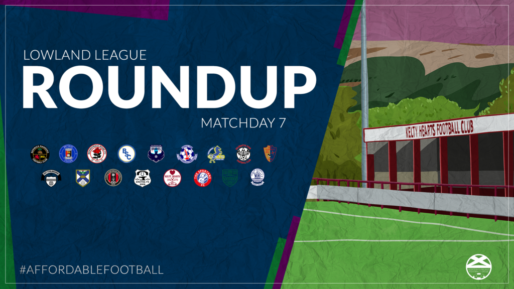 Lowland League Roundup – Matchday 7