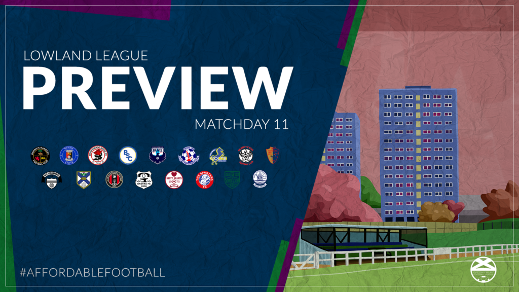 Lowland League Preview – Matchday 11
