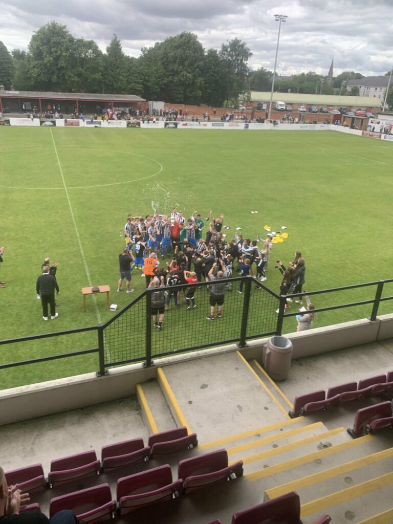 South Challenge Cup Final: Dunipace 3-1 Broomhill
