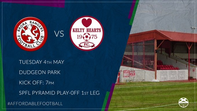 PREVIEW: Brora Rangers v Kelty Hearts – Pyramid Play Off First Leg