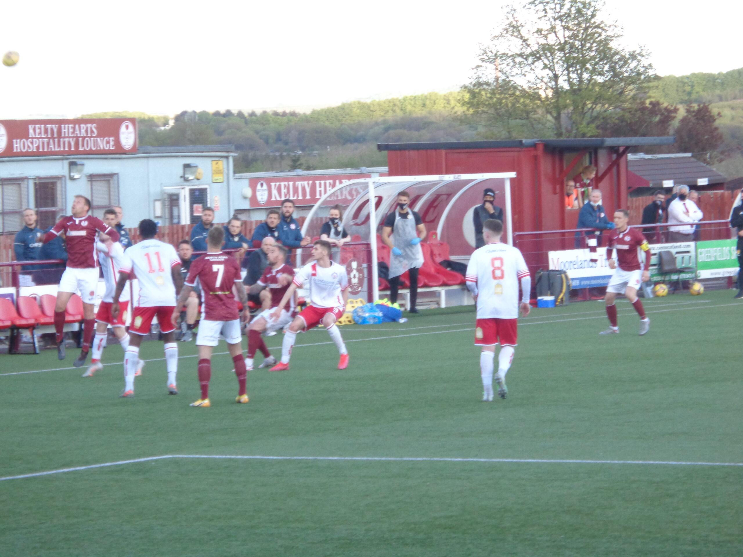 Report: Kelty Hearts 2-1 Brechin City